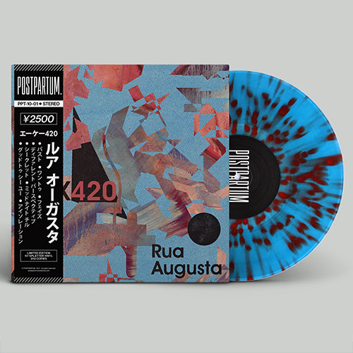AK420 - Rua Augusta | Hip-Hop Instrumental Vinyl Record | Splatter Vinyl
