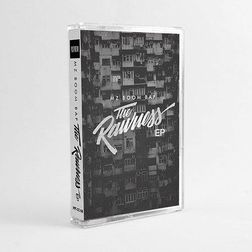 MZ Boom Bap - The Rawness | Hip-Hop Instrumental Cassette / Tape