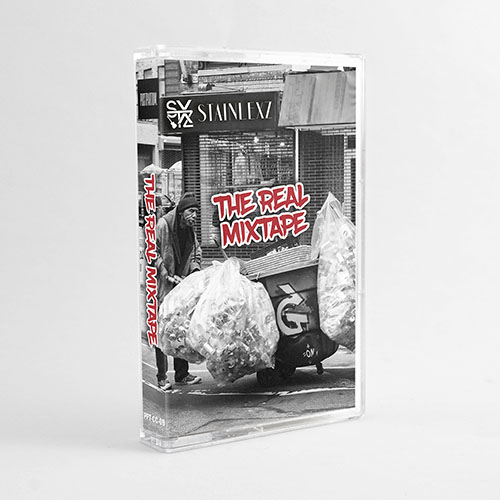Stainlexz - The Real Mixtape | Hip-Hop Instrumental Cassette / Tape