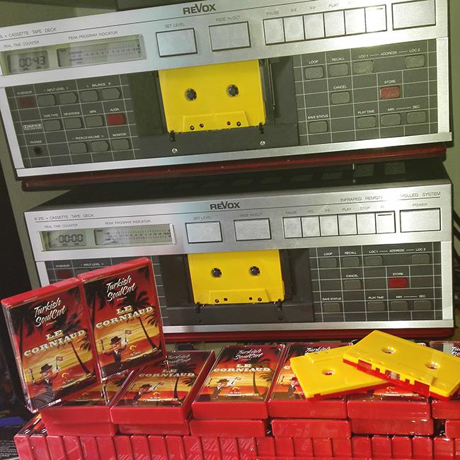 Tape Duplication for Turkish Soulcat | Germany / Europe | Revox Tapedecks
