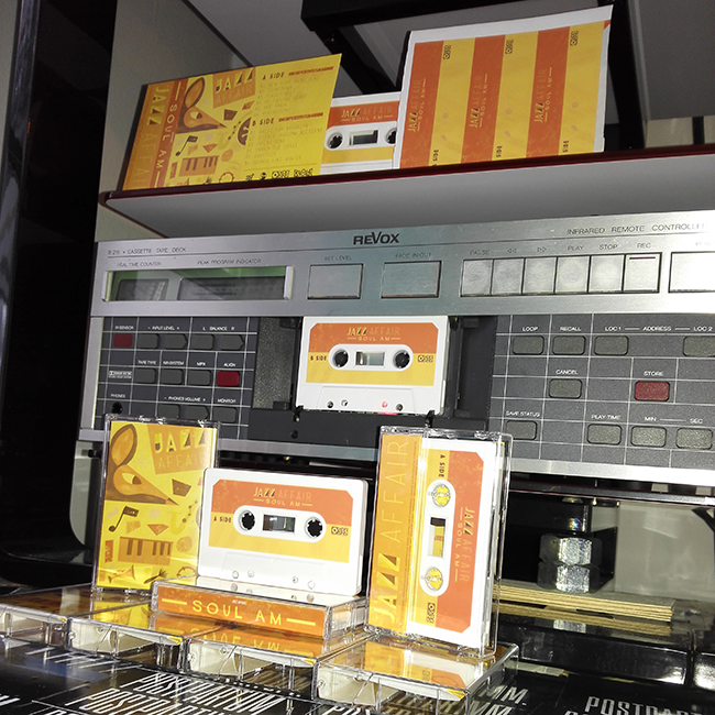 Cassette Duplication for SOUL AM with Revox Tapedecks in Germany (Europe)